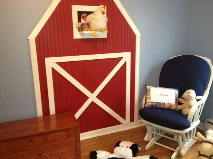 Jackson's farm theme nursery