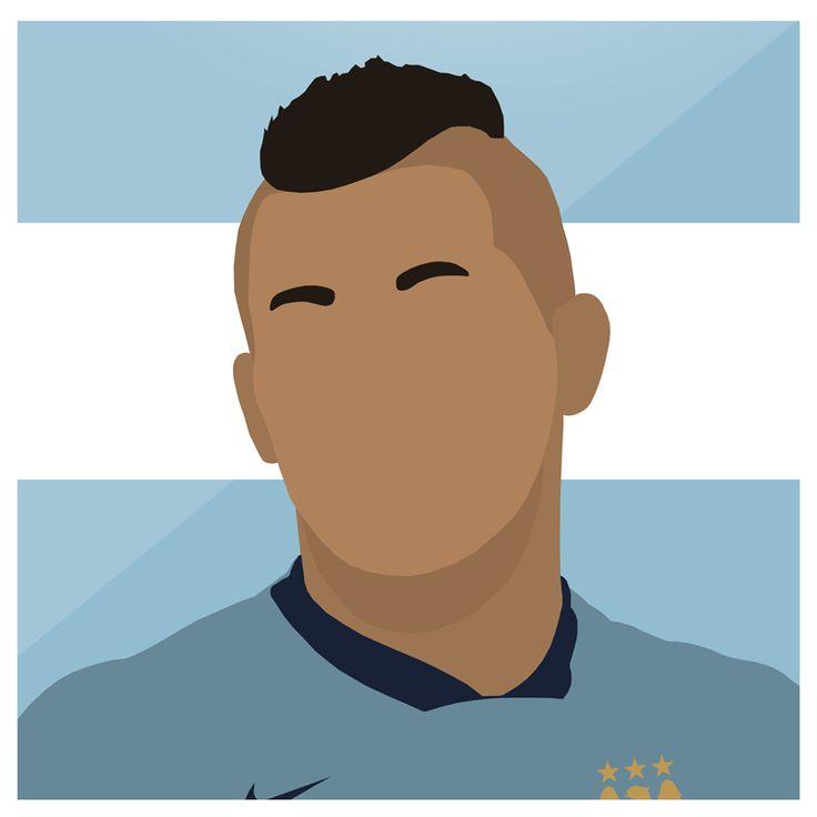 Aguero   #ManCity #Manchester #Blue #Sergio #Aguero #Argentina #Football #Sport #Premiership #England #ManchesterCity #UCL #Design #Graphic #Art #Photoshop #Illustrator #Futbol