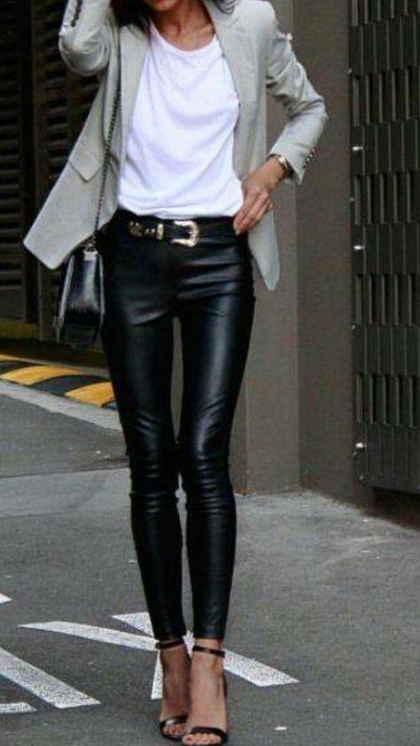 Comment choisir et porter un skinny cuir ?
