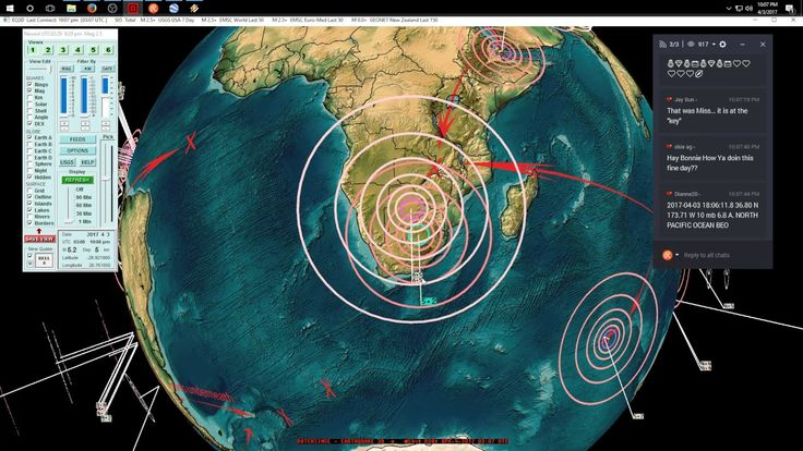 4/03/2017 -- Nightly Earthquake Update + Forecast -- Major M7.0+ seismic unrest spreading #Dutchsinse