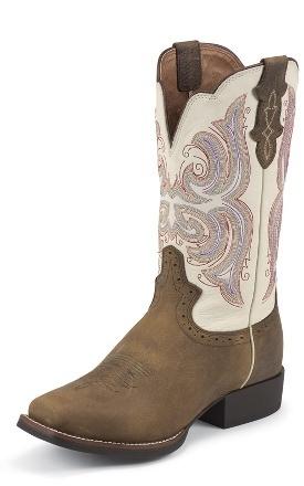 Justin Boots #L7200 BUCKSKIN RAWHIDE
