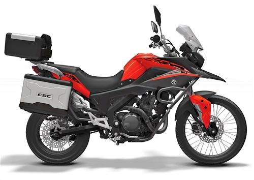2015 RX3 Cyclone Dual-Sport Adventure-Touring Motorcycle - CSC Motorcycles: $4,200.
