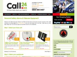 Call24 - Custom Online Ordering System