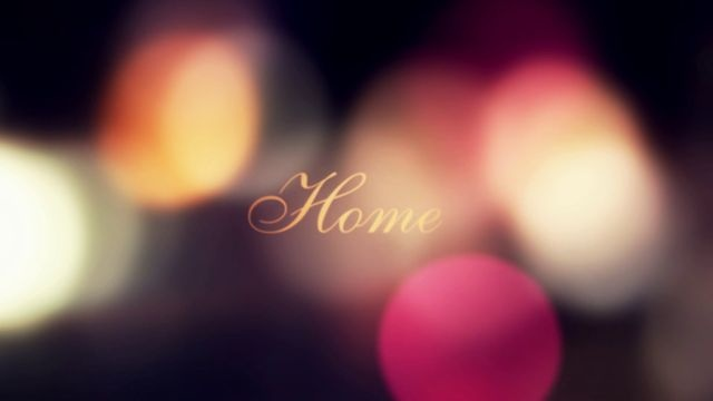 """""""Home"""" is dealing with traveling, using defocused and blurry imagery. It´s like going home after a night out in the city, arriving at daybreak and refocusing, leaving behind the dreamy mind that tends to surround us after a night out."""