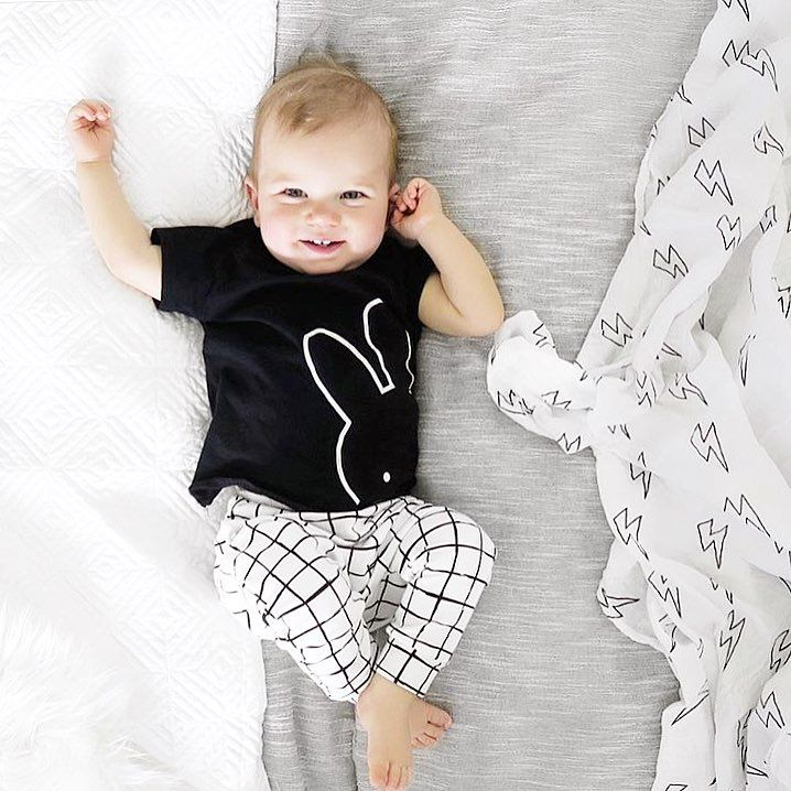 "339 Likes, 60 Comments - OLE design • by Olena (@ole.design) on Instagram: ""Perfect baby boy in a perfect monochrome outfit  Our leggings from NEW collection & my favourite…"""