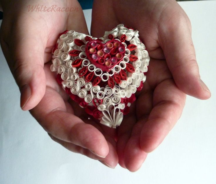 Paper quilling Heart