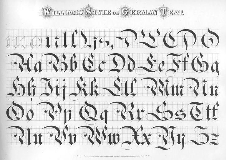 german text williams