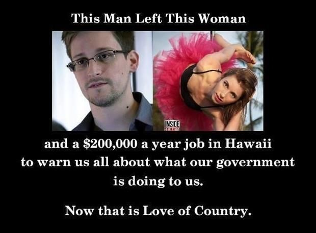 left his girlfriend and job to warn us about what our country is doing to us