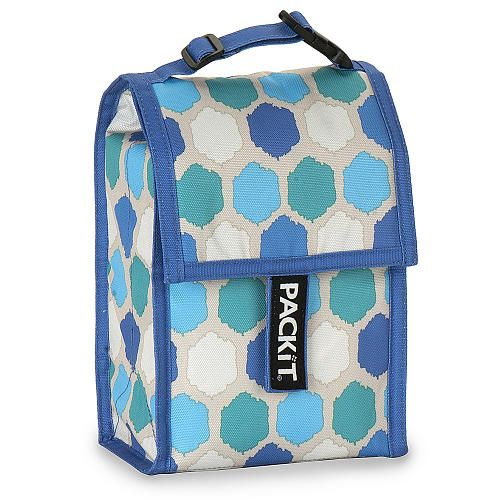 """Packit Double Baby Bottle Cooler Bag - Blue Dots - Packit - Toys """"R"""" Us"""
