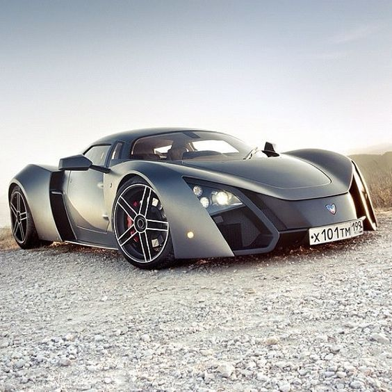 The Russian Supercar, The Marussia Powered By A Or A Turbocharged It Can Go  From 0 To 60 In Seconds And Has A Top S.