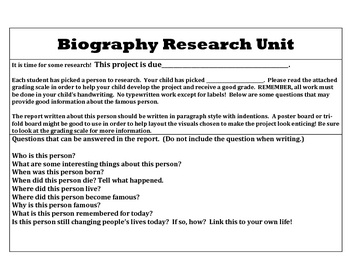 How to Write a Biography Essay