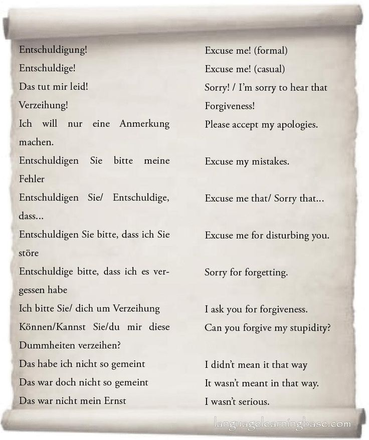 how to say with regards in german