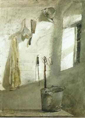 Andrew Wyeth  http://eye-likey.blogspot.com/2011/02/wyeth-vs-wyeth.html