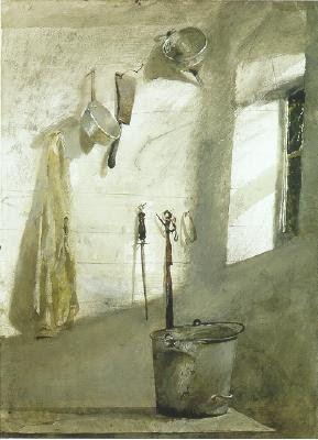 Andrew Wyeth  http://eye-likey.blogspot.com/2011/02/wyeth-vs-wyeth.html