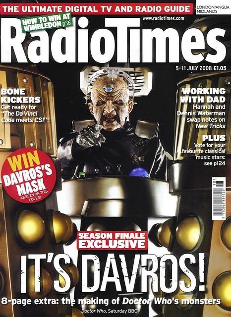 Radio Times Cover 2008-07-05, via Flickr.