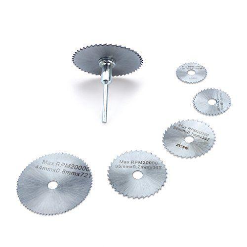 Edealing Outils rotatifs lames de scies circulaires disques de coupe Mandrin Cutoff Cutter Outils électriques multitool: Price:7.92…