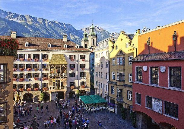 The capital of the Alps - Innsbruck. (c) Innsbruck Tourismus #feelaustria