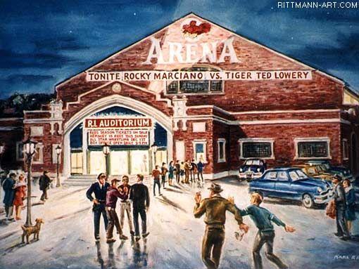 The Old Rhode Island Auditorium