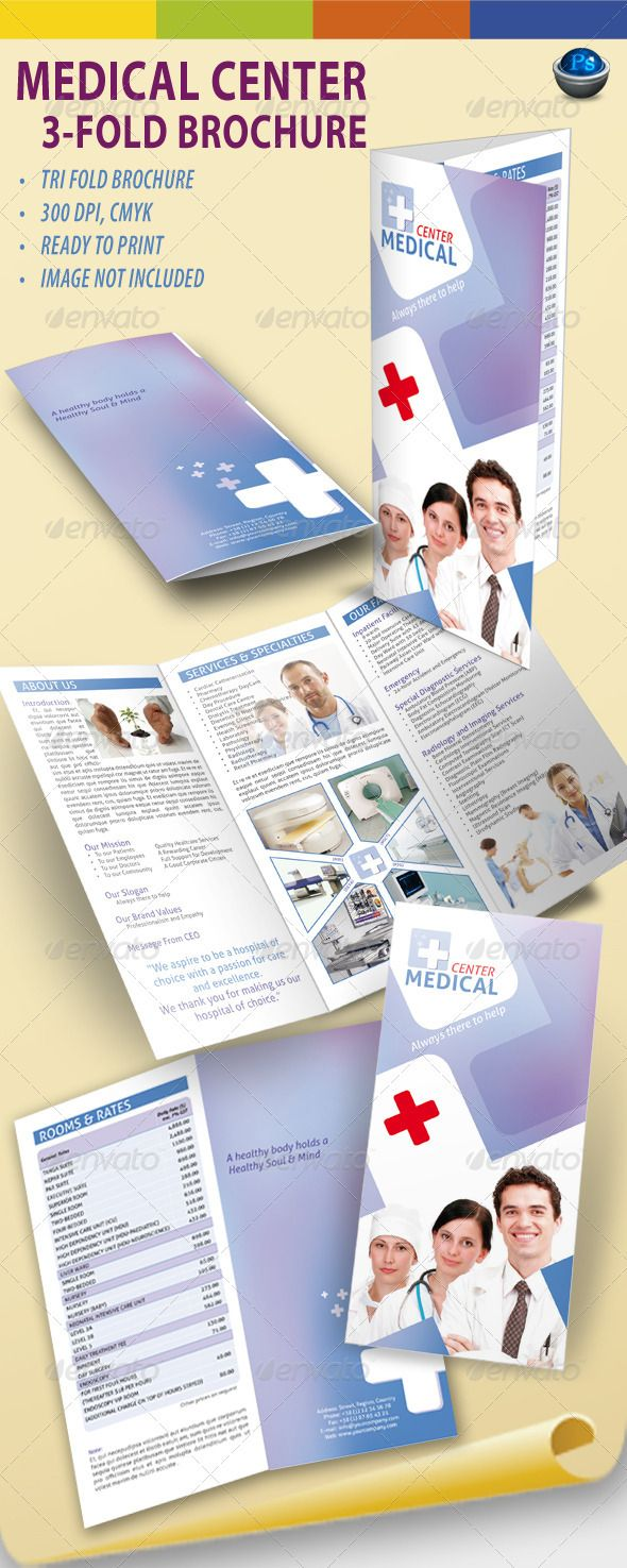 34 best images about medical health and hospital on for Health pamphlet template