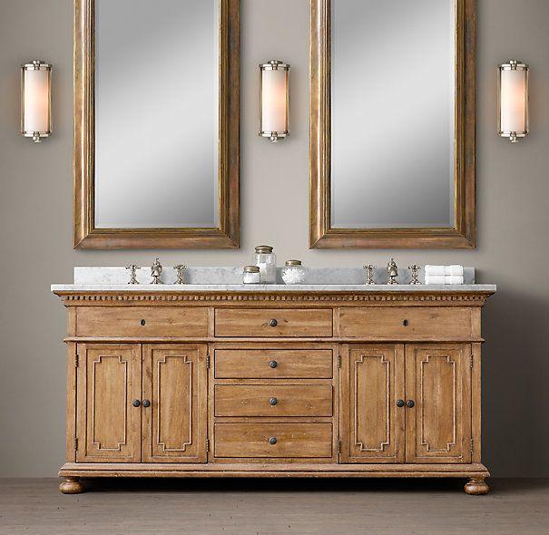 Best 25 cabinets images on pinterest bathroom ideas for Restoration hardware vanities bath