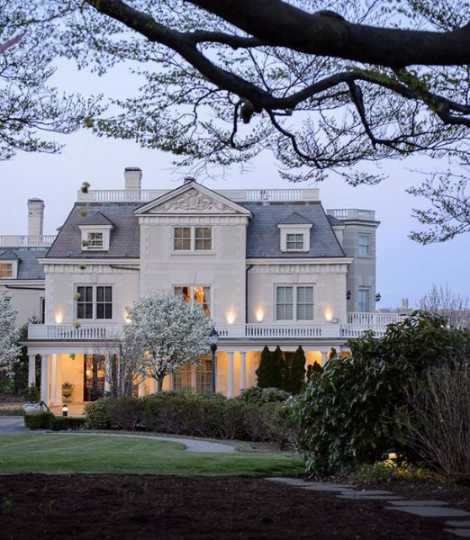 A Newport, R.I. hotel in a 19th-century mansion, The Chanler at Cliff Walk is at once elegant, historic, secluded, and scenic.