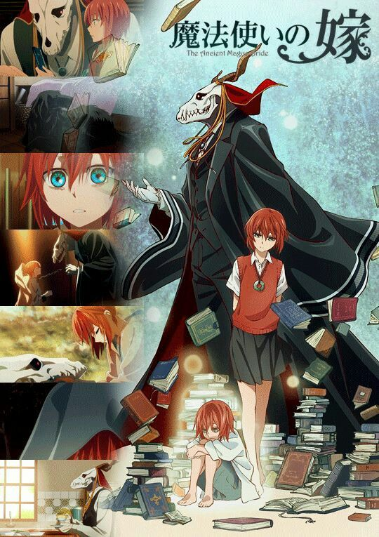 The Ancient Magus Bride Anime : ancient, magus, bride, anime, Ancient, Magus, Bride, Bride,, Anime,, Kawaii, Anime