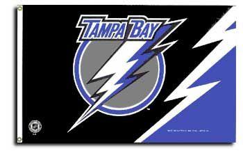 Buy Tampa Bay Lightning - 3' x 5' Polyester Flag   Flagline