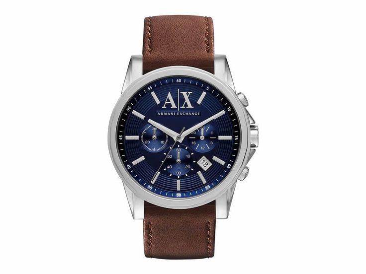 A/X Tenno AX2501 Reloj para Caballero Color Café