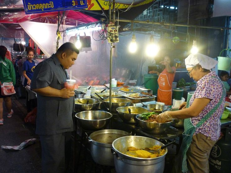 Night market (cheap food) - Surat Thani, Thailand