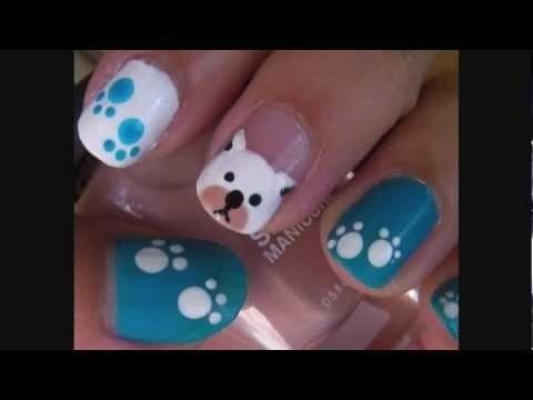 Puppy Dog Nail Art