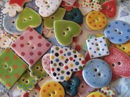 handmade buttons ceramic - Buscar con Google