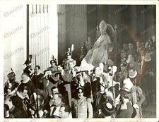 1939 CITTA' DEL VATICANO Papa PIO XII sedia gestatoria cerimonia incoronazione