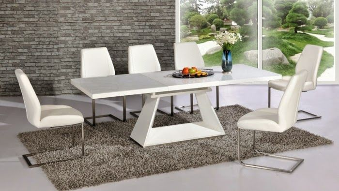 Contemporary Dining Tables Extendable For Modern Homes Contemporary Glass Dining Table Glass Dining Table Set Grey Dining Room
