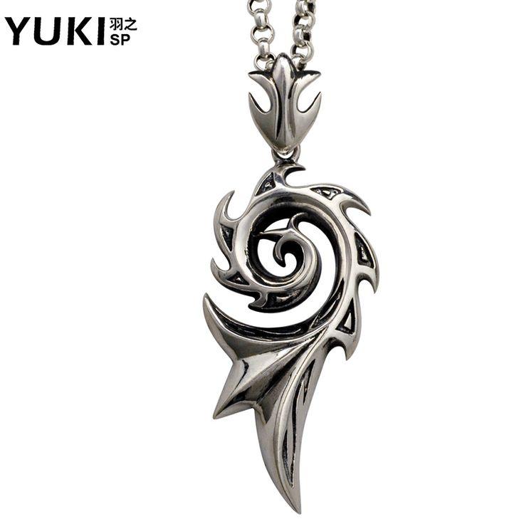 Yuki925 pure silver male necklace pendant male pendant thai silver male accessories personalized $90.00