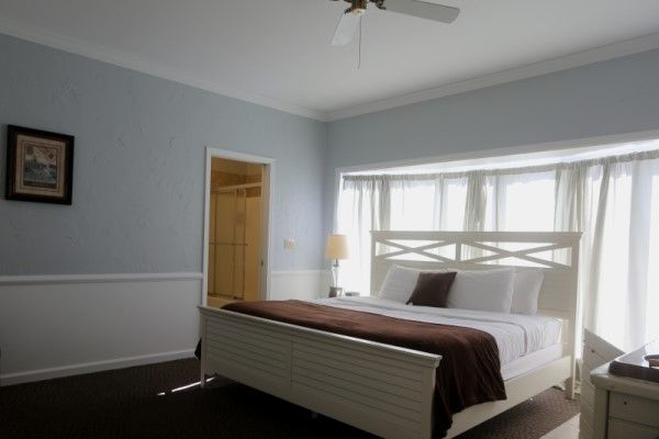Romantic brown county indiana boutique hotel room at Abbey Inn & Suites