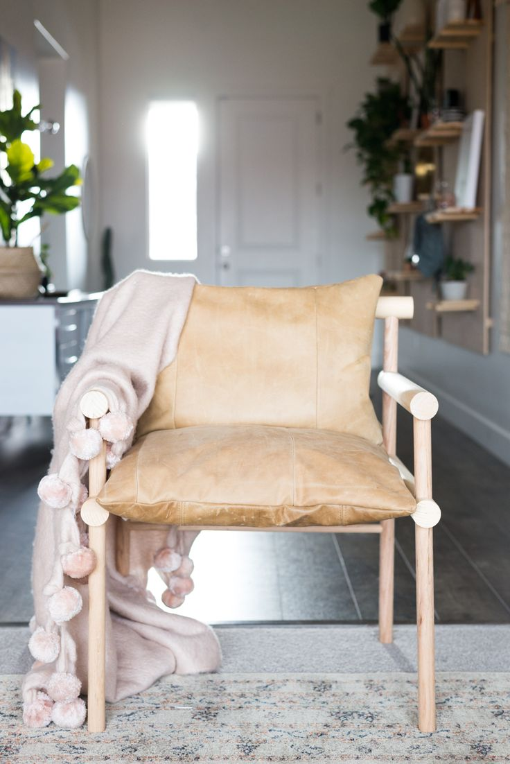 DIY Urban Outfitters Inspired Wooden Dowel Chair | www.homeology.co.za