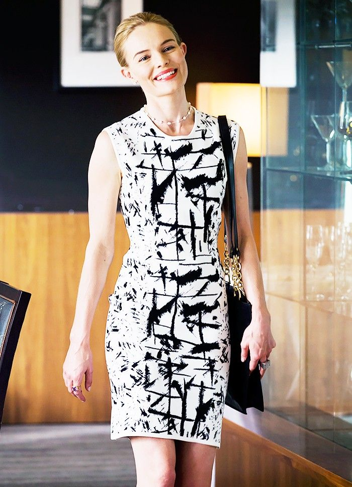 See Kate Bosworth's Boss-Lady Look for Her New Show via @WhoWhatWear