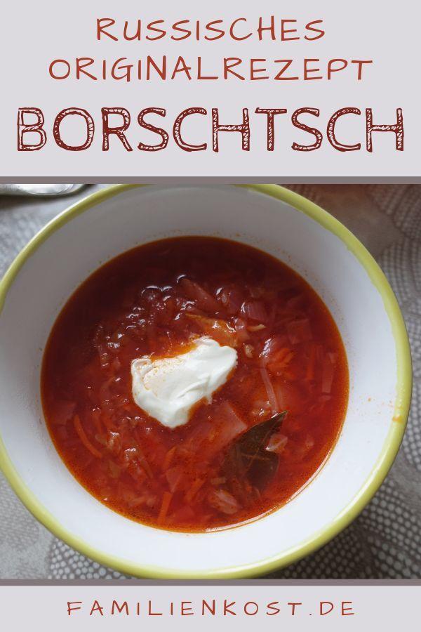 Borschtsch Rezepte