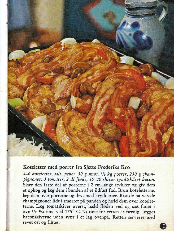 Koteletter med porrer