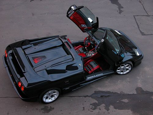 Wonderful Lamborghini Diablo Convertible