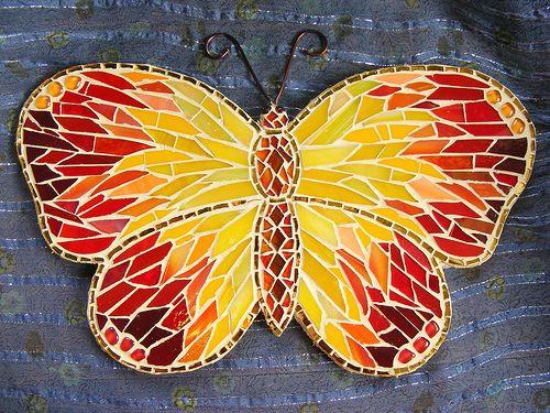 Butterfly mosaic         #animals #mosaic