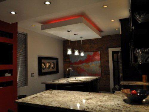 27 best acrylic kitchen designs images on pinterest - Modern bedroom ceiling designs 2017 ...