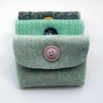 bags purses Purses using felted wool  notonthehighstreet