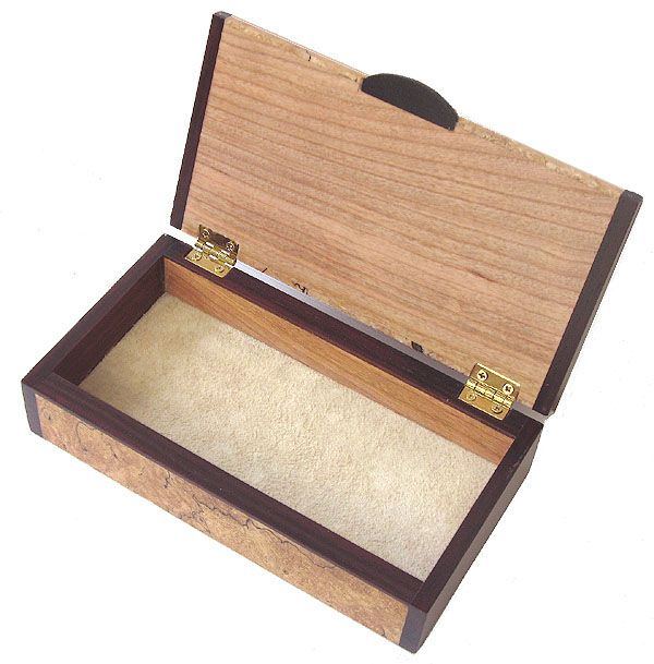 Decorative Keepsake Box Magnificent Small Wood Box  Handmade Small Keepsake Box  Open View  Wooden Design Inspiration