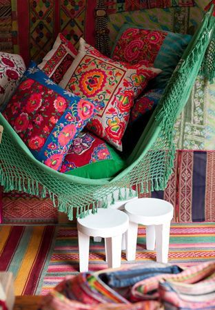 Mexican Decor Styles We Love. These colorful throw pillows add a nice pop of color to the room – Barn & Willow
