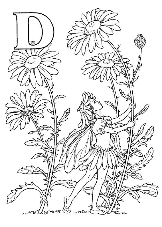 coloring page alfabet elfjes kids n fun printable - Fun Printable Coloring Pages