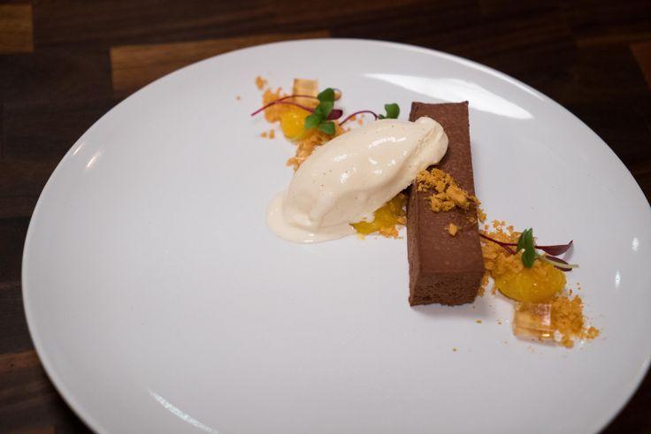 Chocolate Honey and Whisky dessert Masterchef Australia Season 8