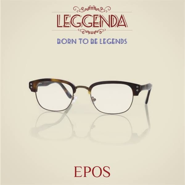 Meet the new Legends. Meet Colombo by Epos Eyewear.