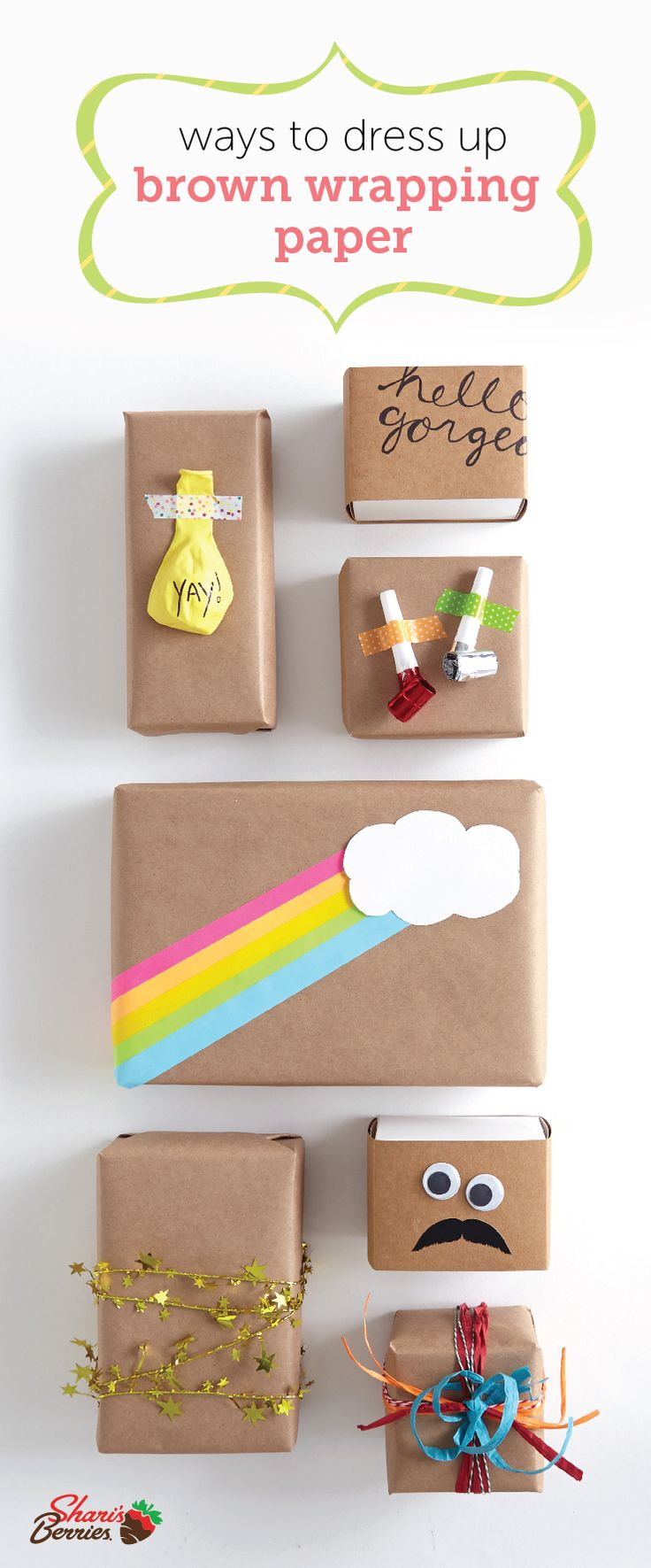 Plain brown wrapping paper