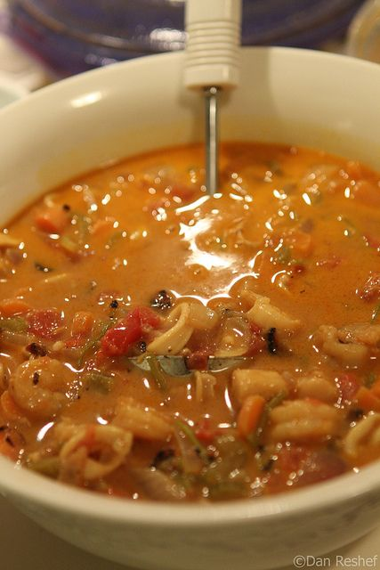the daily paleo Spicy Caribbean Seafood Stew Warming,...